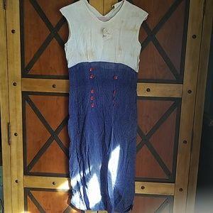ANTIQUE dress SEE DESCRIPTION